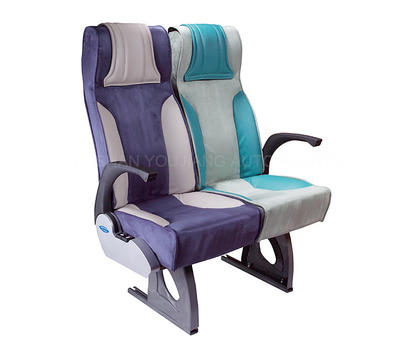 Medium Travel Bus Seat With Leather Material