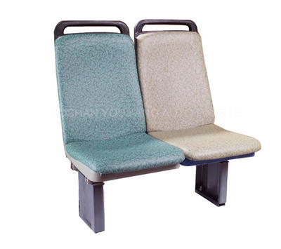 Plastic City Bus Seat With Soft Cushion